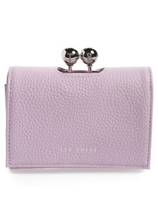 Ted Baker London Maciey Bobble Mini Matinée Leather Wallet