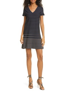 Ted Baker London Maciiey Stitch Detail Knit Dress