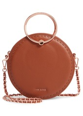 Ted Baker London Maddie Circle Leather Crossbody Bag