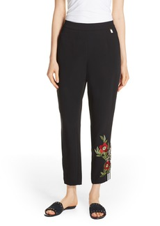 Ted Baker London Madlyne Floral Detail Pants