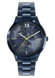 Ted Baker London Manhatt Multifunction Bracelet Watch, 42mm
