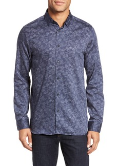 Ted Baker London Marais Geo Print Sport Shirt