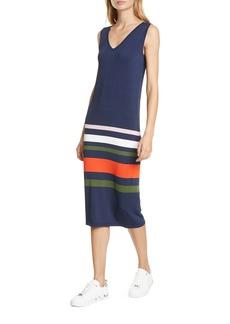 Ted Baker London Marpee Stripe Sleeveless Knit Dress
