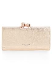 Ted Baker London Marta Bobble Matinée Leather Wallet