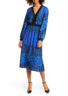 Ted Baker London Maryema Quartz Long Sleeve A-Line Dress