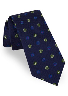 Ted Baker London Medallion Flower Silk Tie