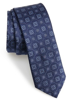 Ted Baker London Medallion Silk Skinny Tie