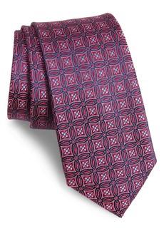 Ted Baker London Medallion Silk X-Long Tie