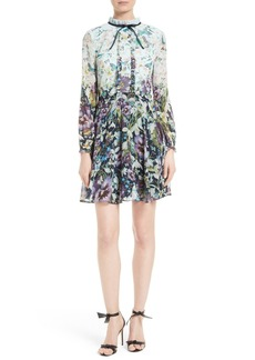Ted Baker London Meelia Floral Print Chiffon Dress