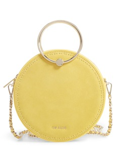 Ted Baker London Melliaa Suede Circle Bag