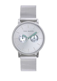 Ted Baker Mens Stainless Steel Mesh Strap Watch