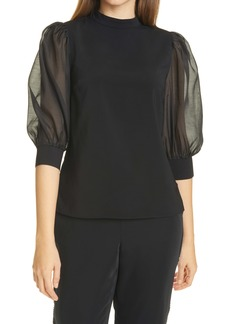 Ted Baker London Micaeli Organza Top