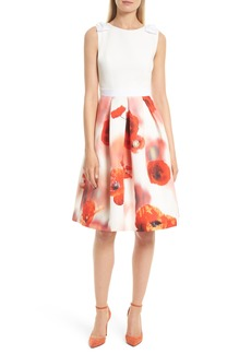 Ted Baker London Micla Playful Poppy Bow Dress