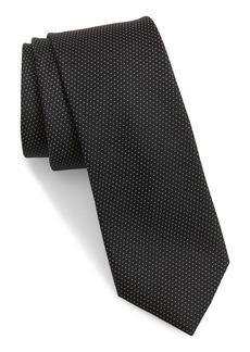 Ted Baker London Micro Dot Skinny Silk Tie