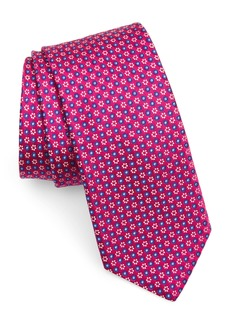 Ted Baker London Micro Floral Silk Tie
