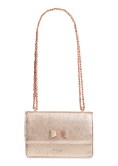 Ted Baker London Micro Leather Crossbody Bag