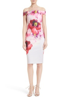 Ted Baker London Mida Off the Shoulder Sheath Dress