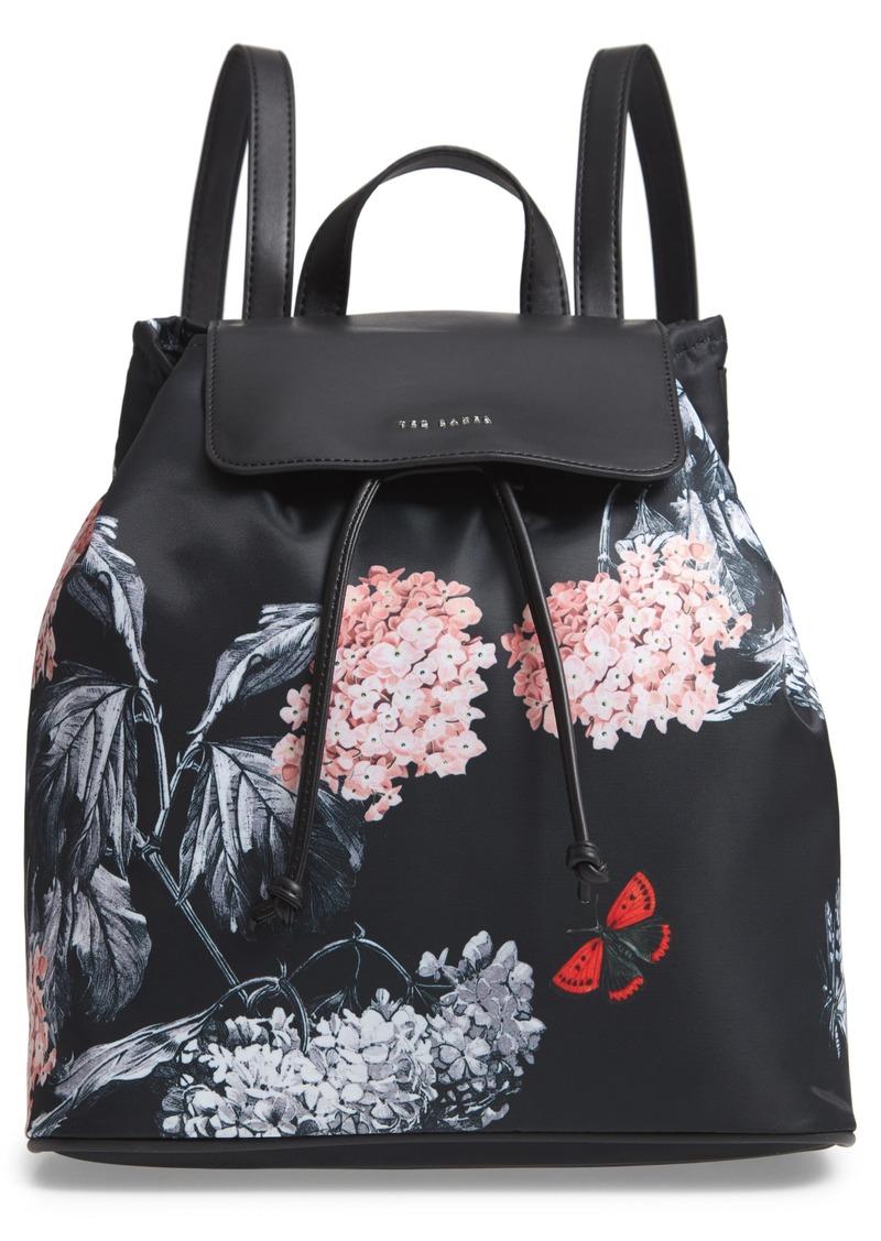 Ted Baker London Milliee Narrnia Print Nylon Backpack