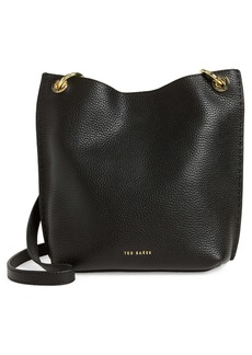 Ted Baker London Mini Holiiee Leather Crossbody Bag