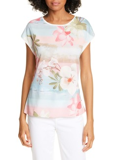 Ted Baker London Larnah Floral Front Top