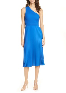 Ted Baker London Miriom One-Shoulder Knit Midi Dress