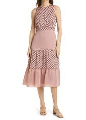 Ted Baker London Mix Polka Dot Sleeveless Dress