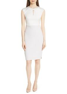 Ted Baker London Mock Two-Piece Pencil Dress