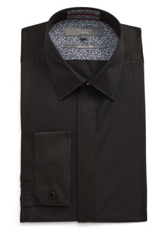 Ted Baker London Modern Fit Solid Dress Shirt