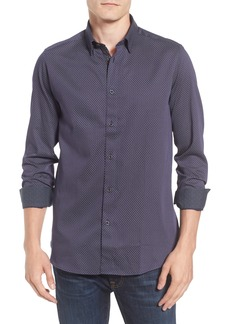 Ted Baker London Modern Slim Fit Print Sport Shirt