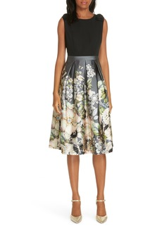 Ted Baker London Molyka Gem Gardens Bow Dress