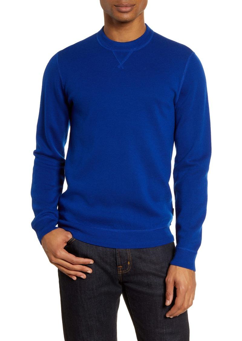 Ted Baker London Monop Slim Fit Crewneck Wool Sweater