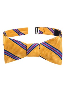 Ted Baker London Multistripe Silk Bow Tie