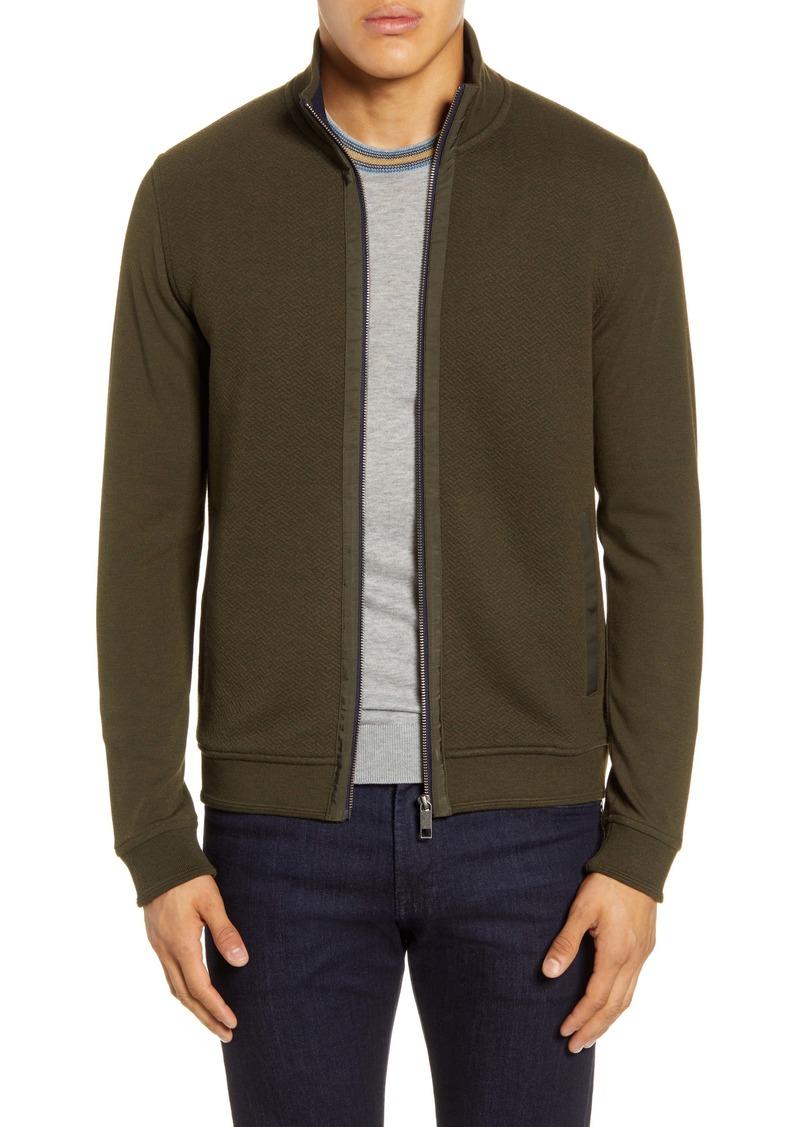 Ted Baker London Multy Slim Fit Fleece Jacket