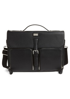 Ted Baker London Munch Leather Satchel Briefcase