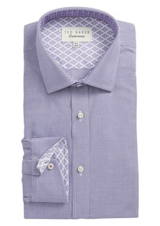 Ted Baker London Murgese Trim Fit Geometric Dress Shirt
