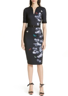 Ted Baker London Narrnia Body-Con Dress