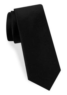 Ted Baker London Solid Formal Silk Skinny Tie