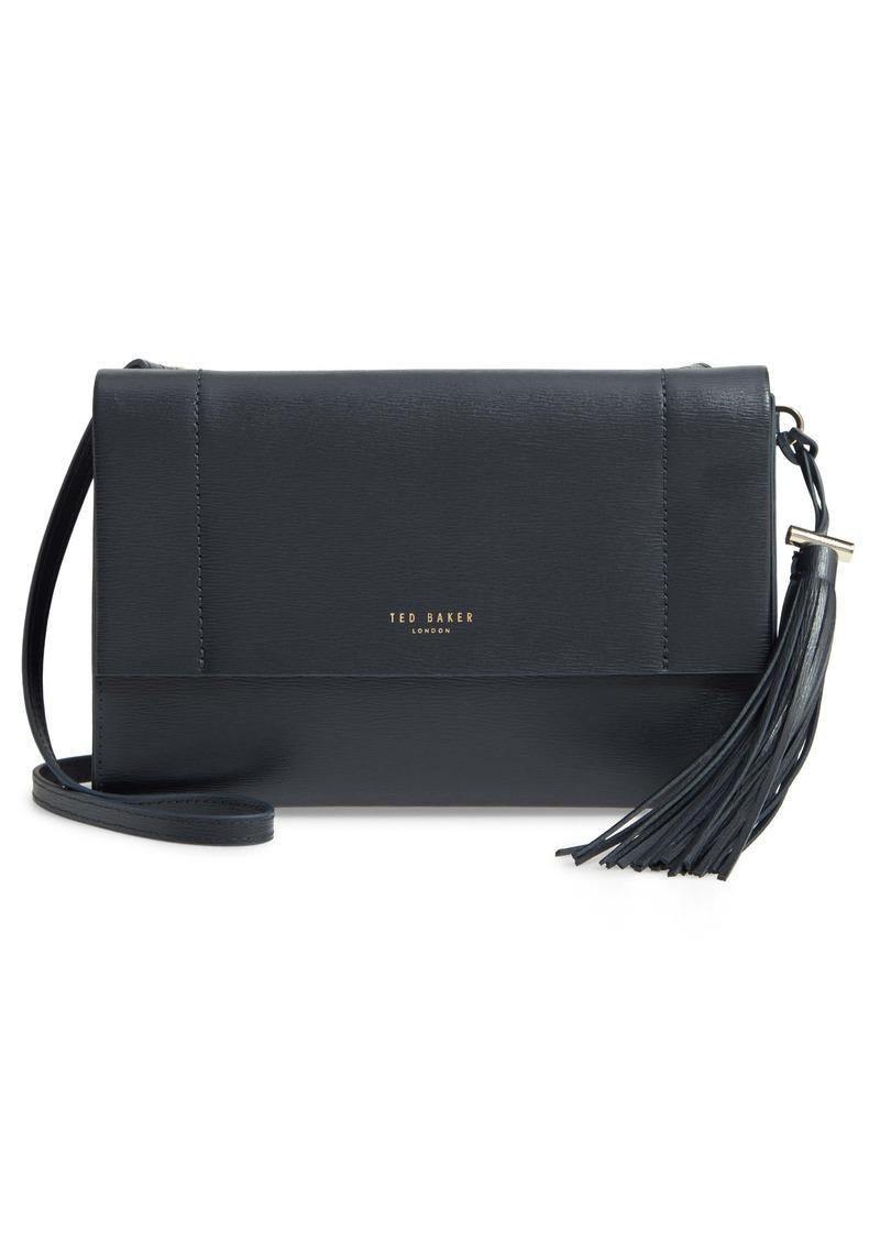 Ted Baker London Natalei Leather Crossbody Bag