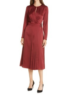 Ted Baker London Neenha Long Sleeve Wrap Dress