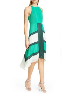 Ted Baker London Nellina Pleated Midi Dress