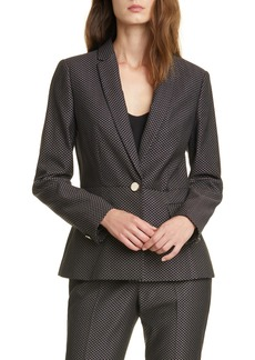 Ted Baker London Neolaa Jacquard Suit Jacket