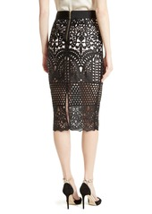 Ted Baker London Neoma Lace Pencil Skirt