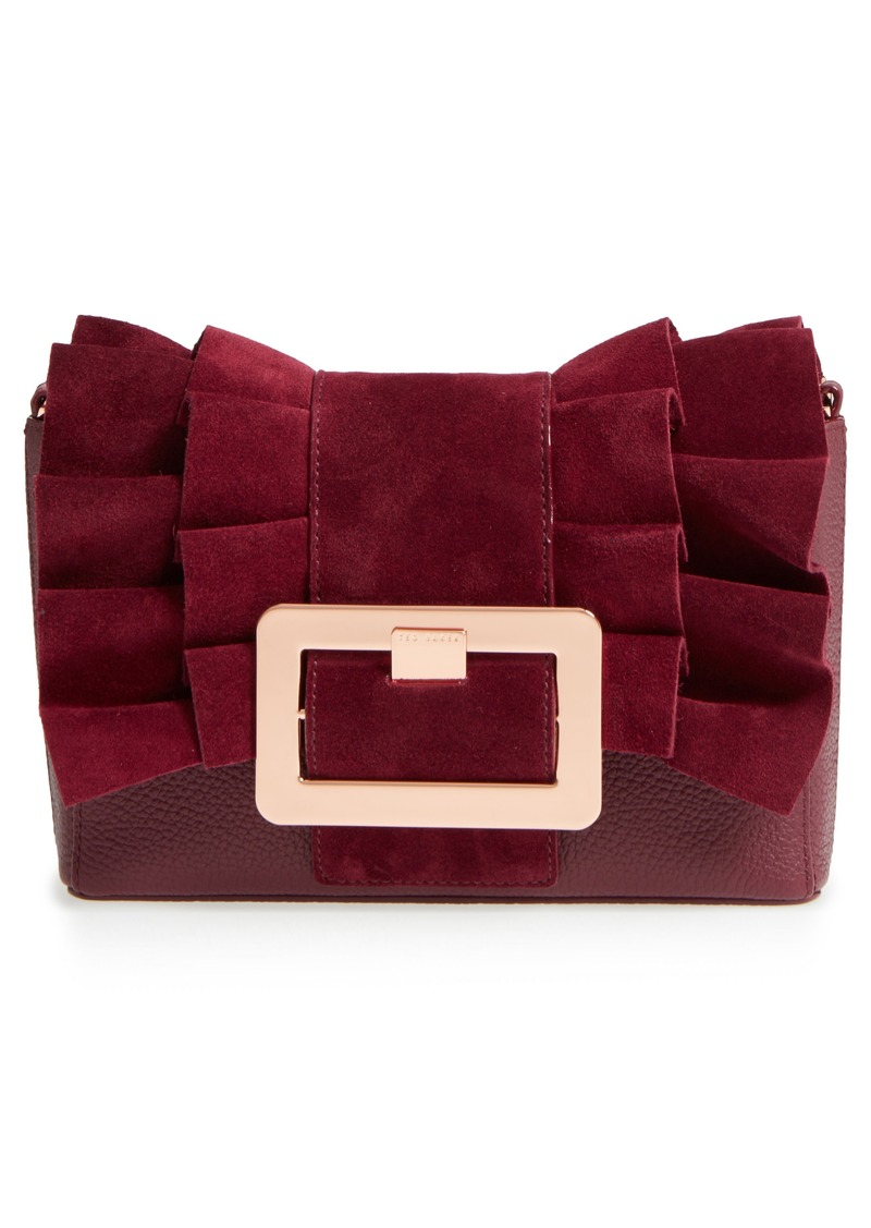 6e791a40553f12 SALE! Ted Baker Ted Baker London Nerinee Bow Buckle Clutch