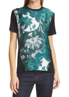 Ted Baker London Norlet Rococo Print Woven Panel Shirt
