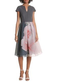 Ted Baker London Noura Midi Dress
