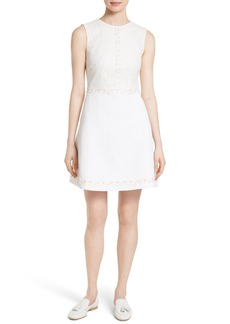 Ted Baker London Olara Daisy Lace Shift Dress