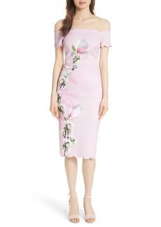 Ted Baker London Olyva Harmony Body-Con Dress