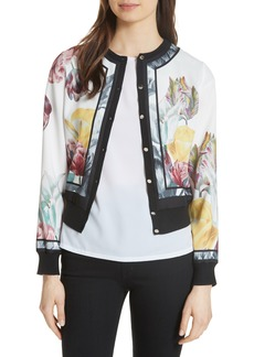 Ted Baker London Olyviaa Tranquility Woven Jacket