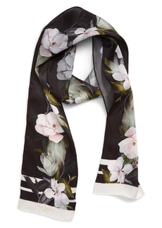 Ted Baker London Opal Silk Skinny Scarf