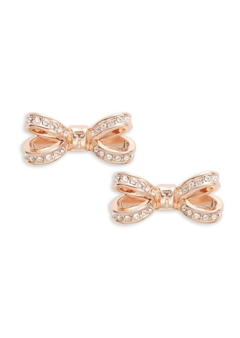8e89e2c4b Ted Baker Ted Baker London Opulent Pave Bow Crystal Olitta Earrings ...